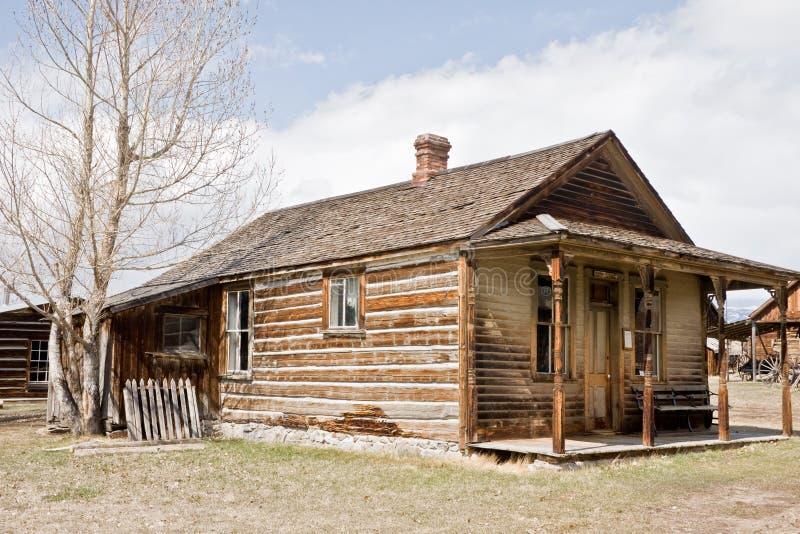 Estação de correios 68 da cidade fantasma foto de stock royalty free