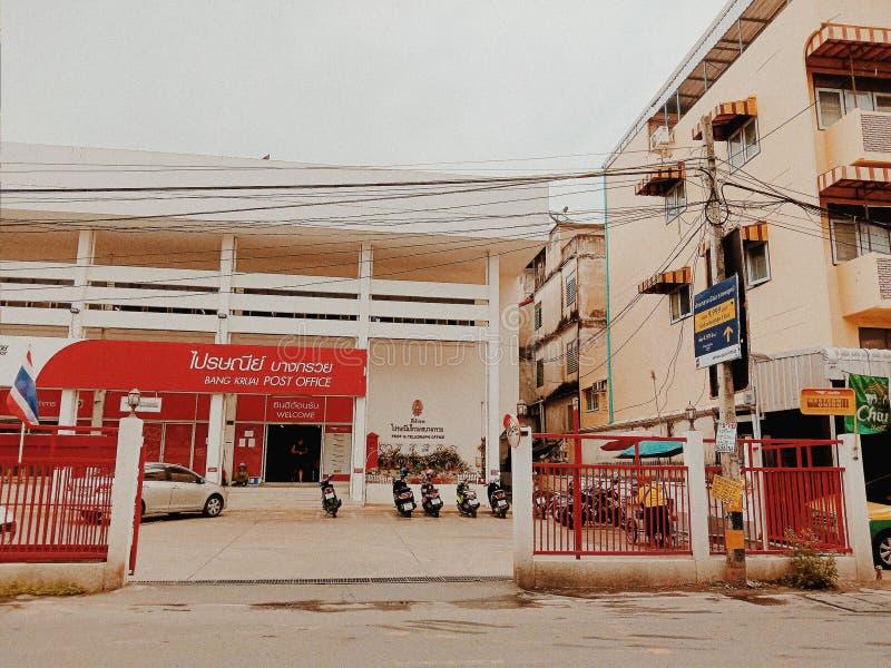 Estação de correios em Tailândia imagens de stock royalty free