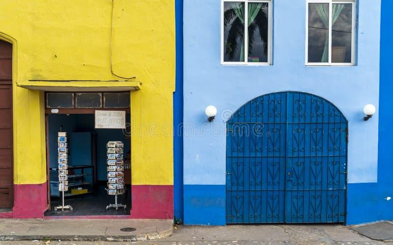 Estação de correios em Trinidad imagens de stock