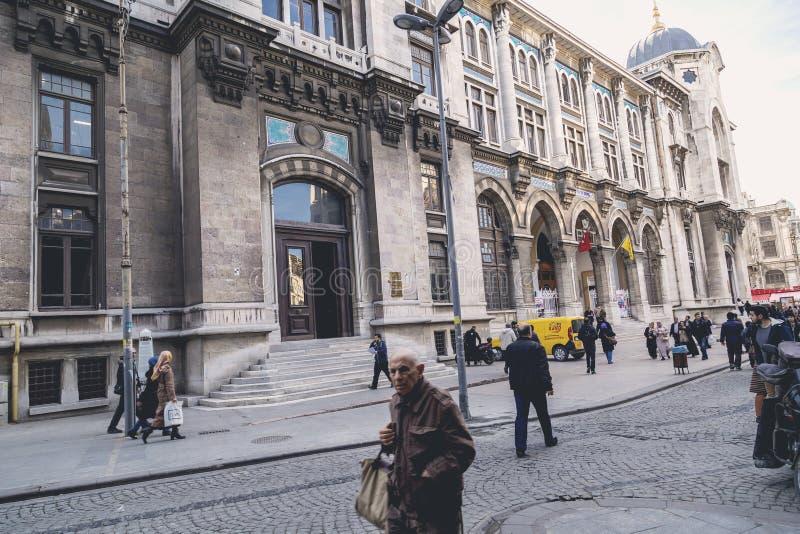 Estação de correios grande, Istambul imagens de stock royalty free