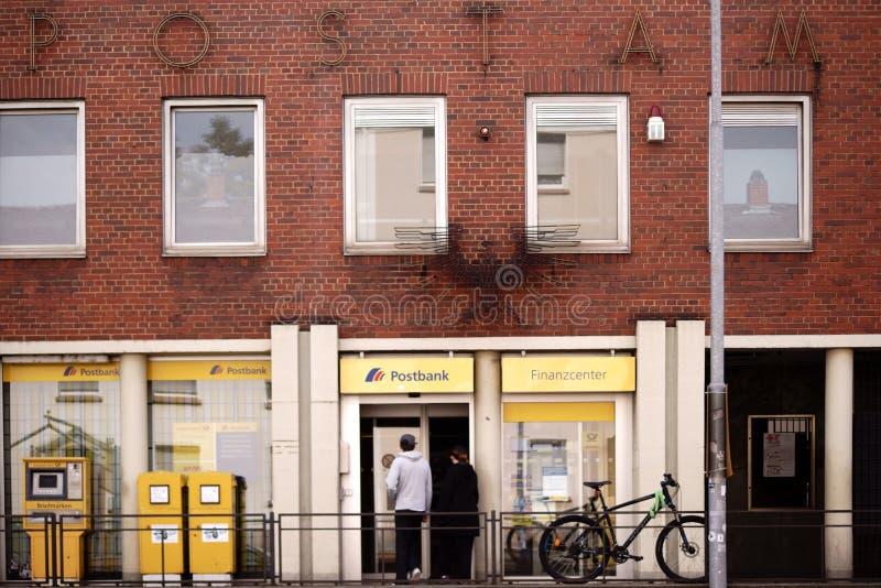Estação de correios Kaiserslautern imagens de stock royalty free