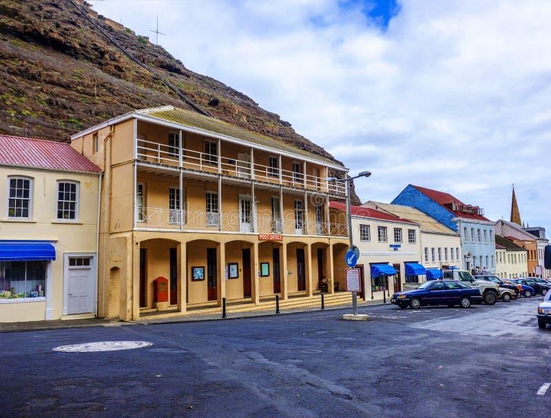 Estação de correios St Helena de Jamestown fotos de stock royalty free