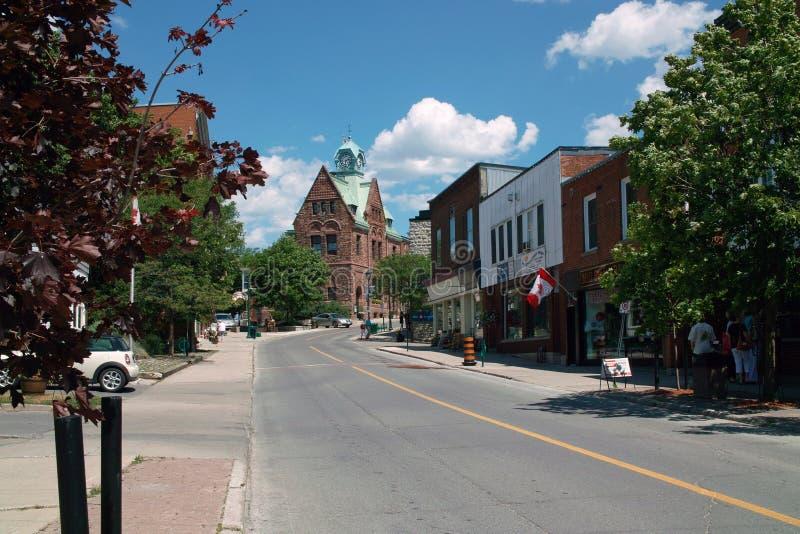 Estação de correios velha, Almonte Ontário Canadá foto de stock