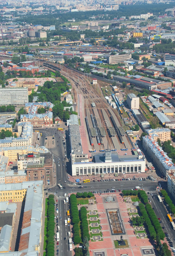 Estação de Finlyandsky foto de stock royalty free