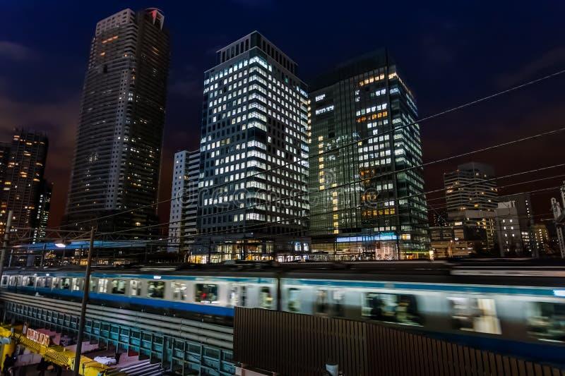 Estação de Hamamatsucho imagens de stock
