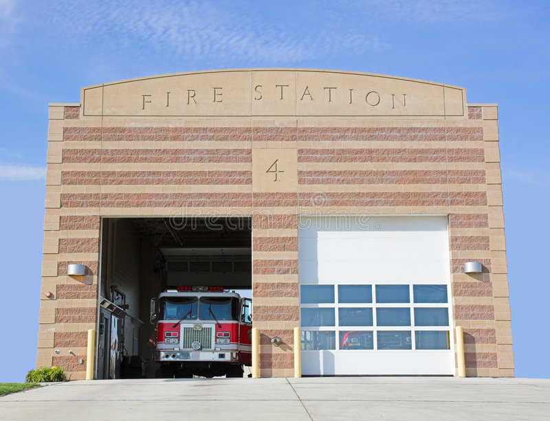 Estação de incêndio imagem de stock royalty free