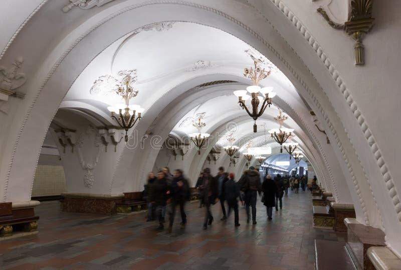 Estação de metro de Arbatskaya imagem de stock royalty free