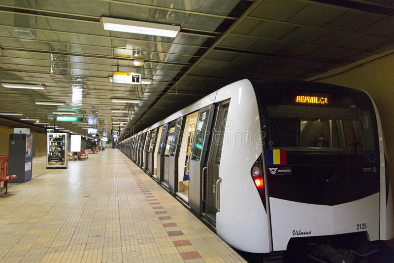 Estação de metro de Dristor 2 fotos de stock