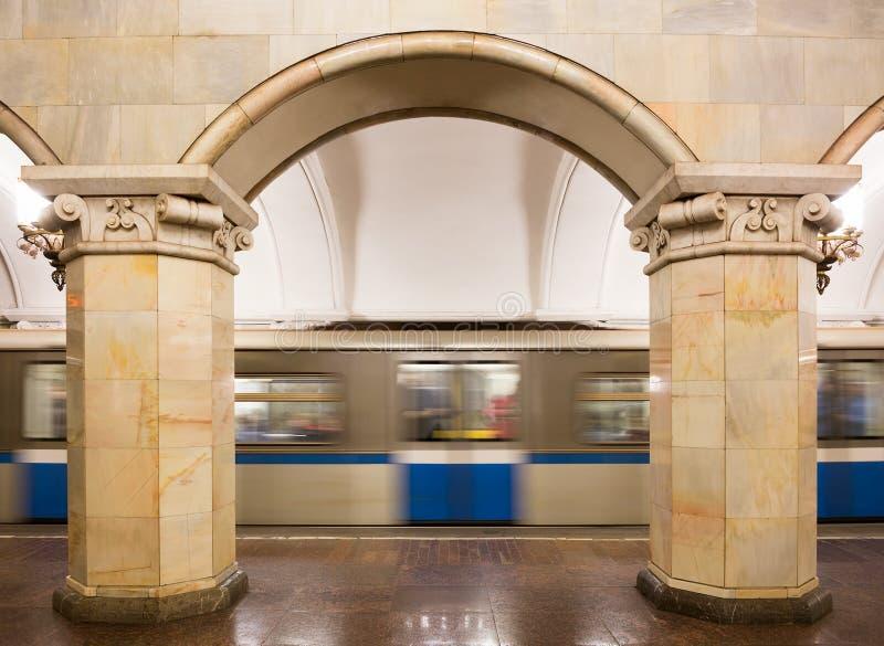Estação de metro de Komsomolskaya imagem de stock royalty free