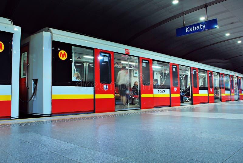 Estação de metro do metro imagens de stock