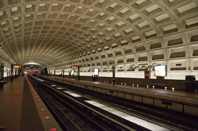 Estação de metro do Washington DC imagens de stock royalty free