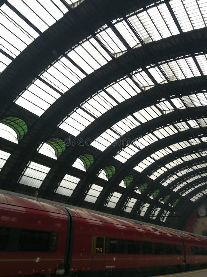 Estação de Milão foto de stock royalty free