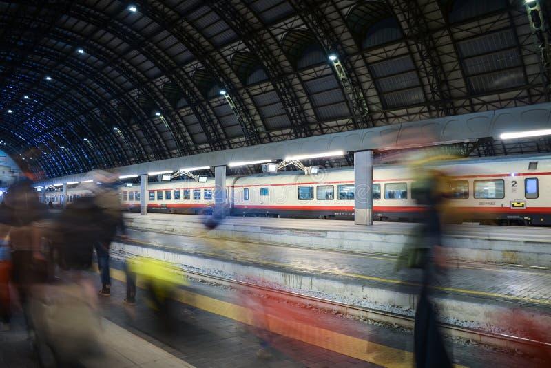 Estação de Milan Central foto de stock