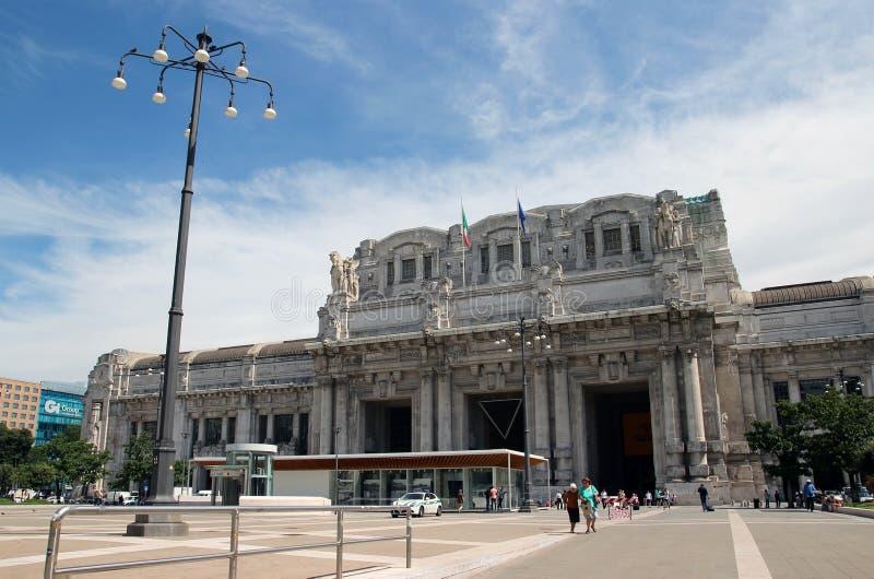Estação de Milan Central fotos de stock