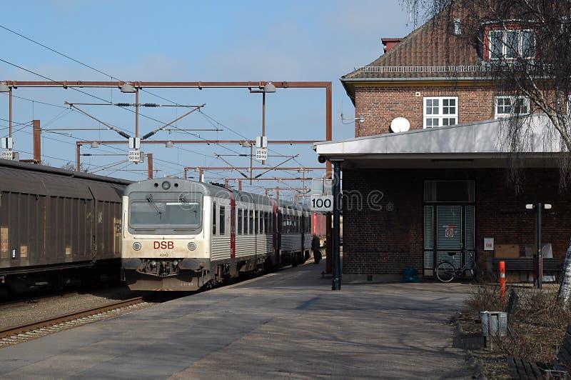 Estação de Padborg imagem de stock