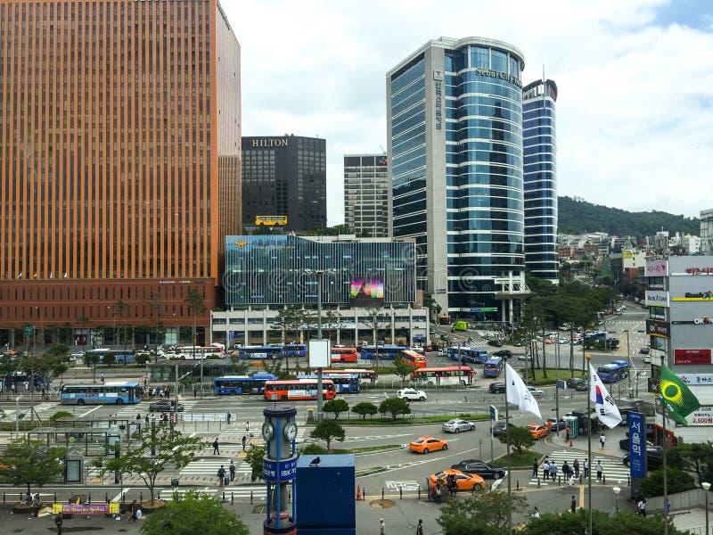 Estação de Seoul imagem de stock royalty free