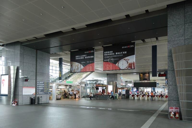 Estação de Taichung fotografia de stock