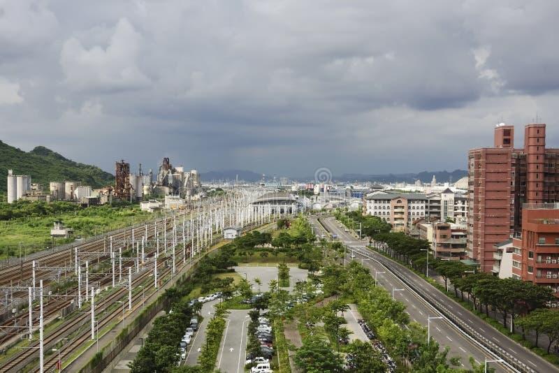 Estação de Taiwan Kaohsiung foto de stock
