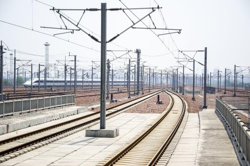 Estação de trem de alta velocidade imagens de stock royalty free