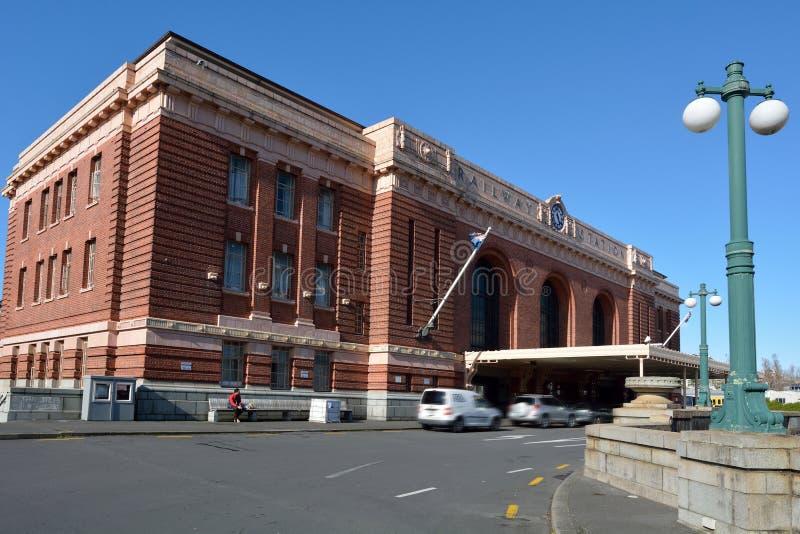 Estação de trem de Auckland - Nova Zelândia fotografia de stock