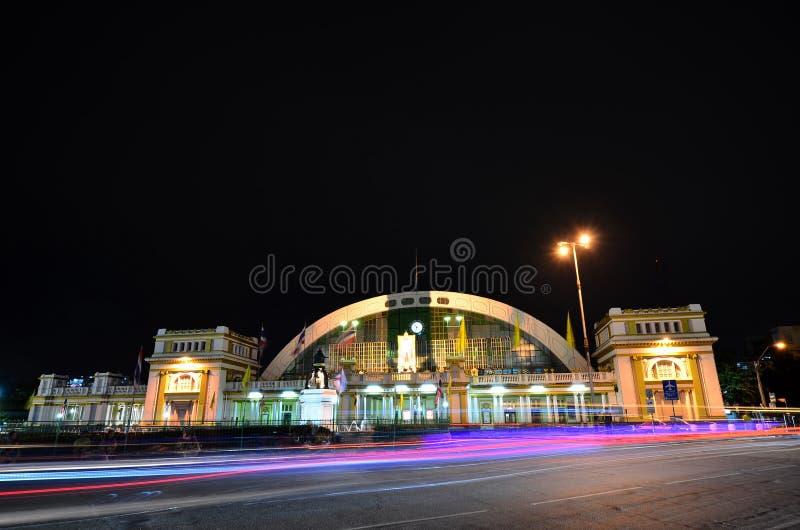 Estação de trem de Banguecoque imagem de stock