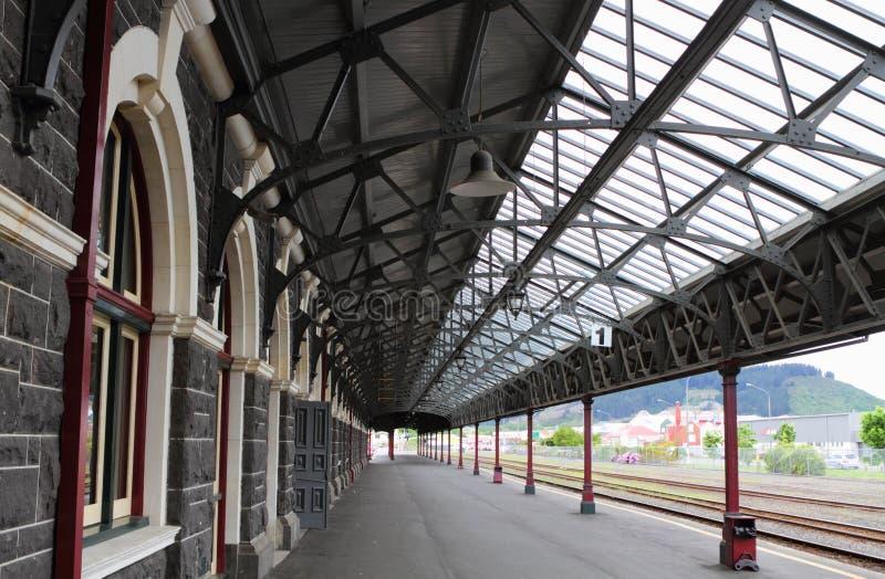 Estação de trem de Dunedin fotografia de stock royalty free