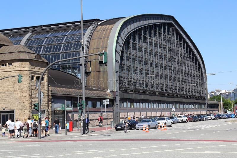 Estação de trem de Hamburgo, Alemanha foto de stock royalty free