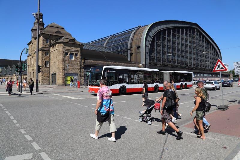 Estação de trem de Hamburgo, Alemanha imagens de stock royalty free