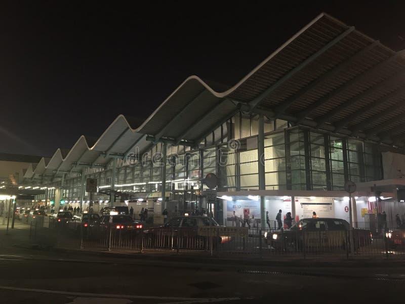 Estação de trem de Hunghom, península de Kowloon imagens de stock