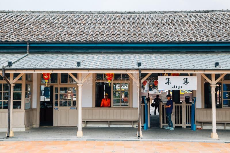 Estação de trem de Jiji em Nantou, Taiwan fotos de stock
