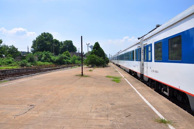Estação de trem norte de Nanjing, Nanjing, China imagem de stock