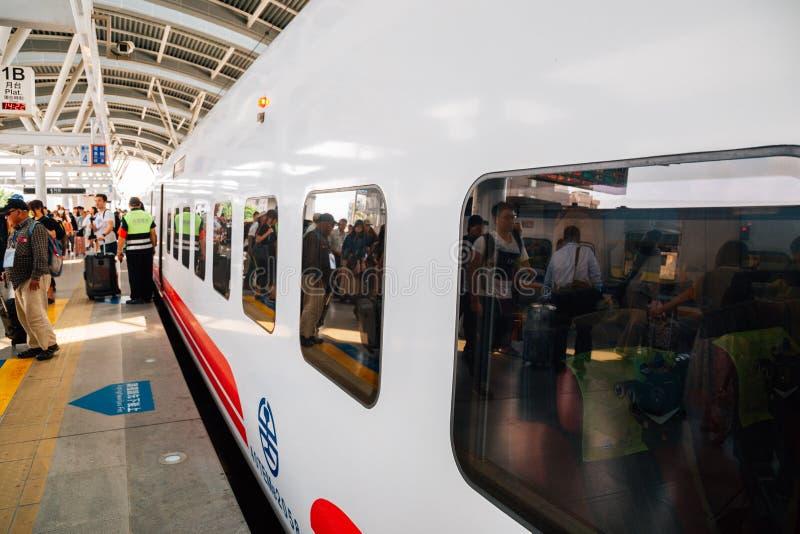 Estação de trem de Taichung em Taichung, Taiwan imagem de stock