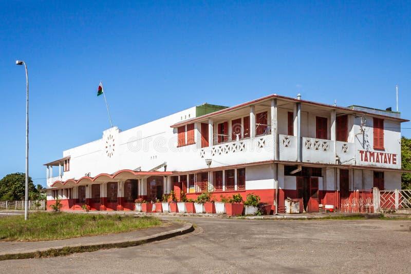 A estação de trem de Toamasina foto de stock royalty free