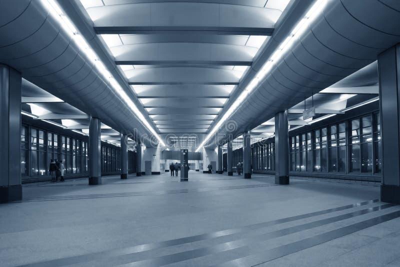 Estação do metro foto de stock