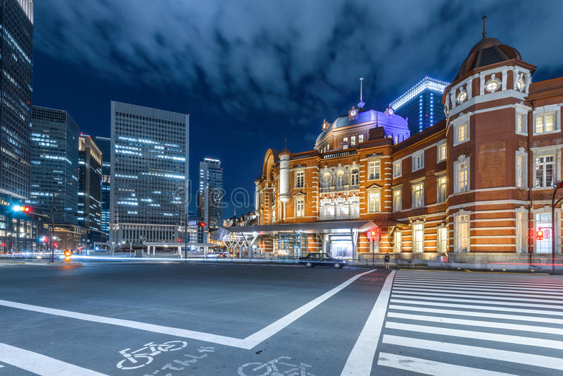 Estação do Tóquio imagens de stock royalty free