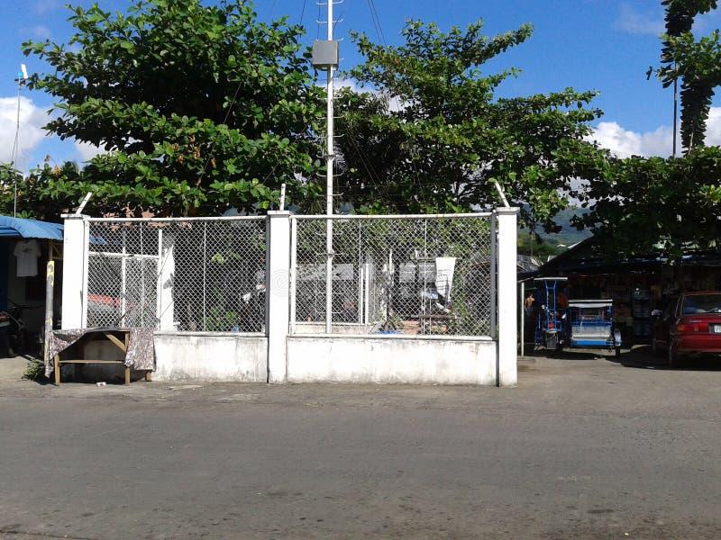 Estação elétrica em Filipinas fotografia de stock royalty free