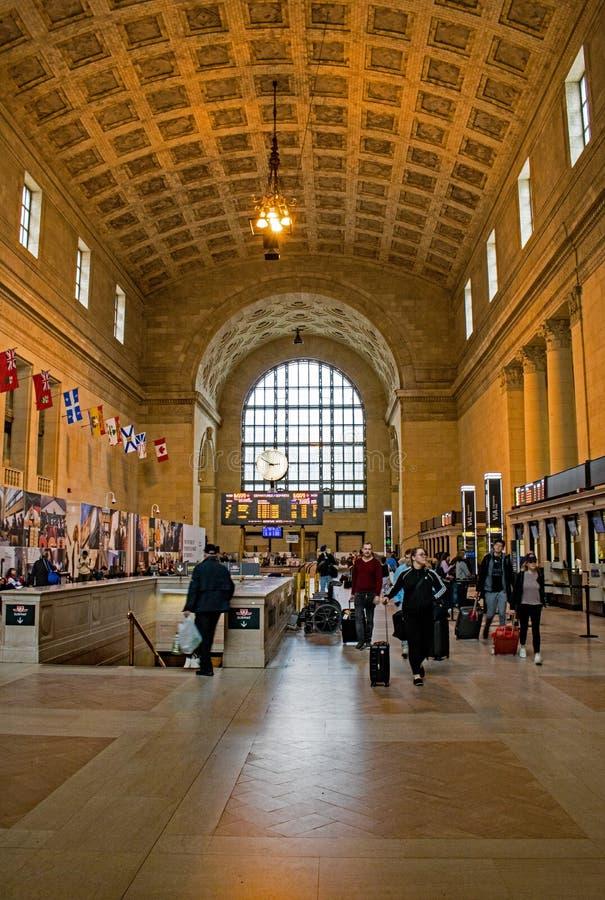 Estação em Toronto, Ontário da união, Canadá imagem de stock