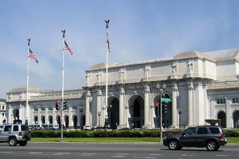 Estação em Washington, C.C. da união imagens de stock royalty free