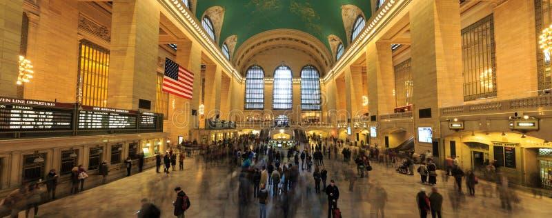Estação famosa de Grand Central do marco de New York City (tem mais th imagem de stock royalty free