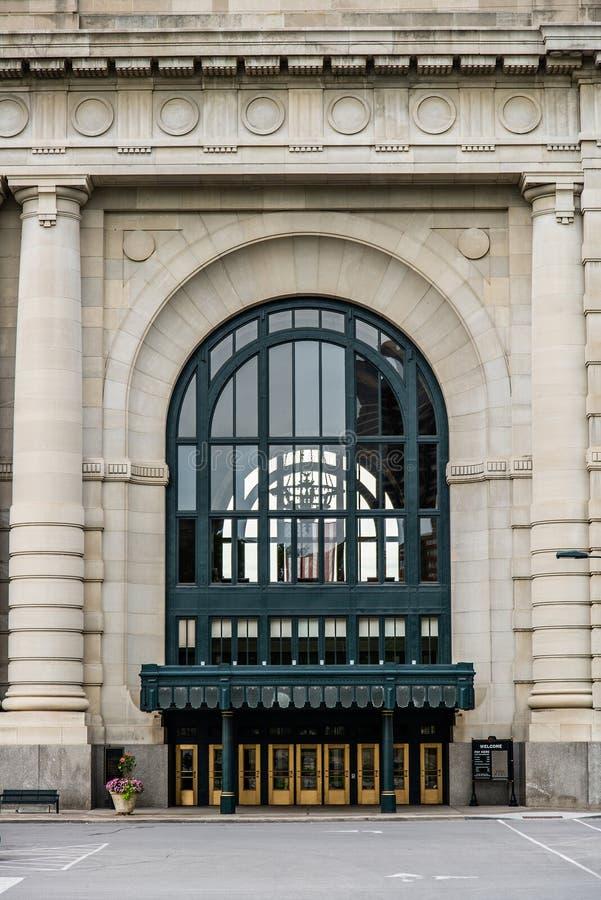 Estação Kansas City Missouri da união fotografia de stock royalty free