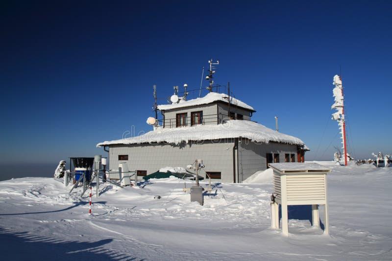 Estação meteorológica fotos de stock
