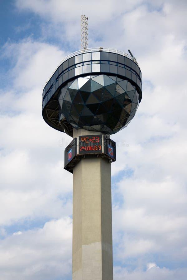 Estação meteorológica em Tuapse imagem de stock