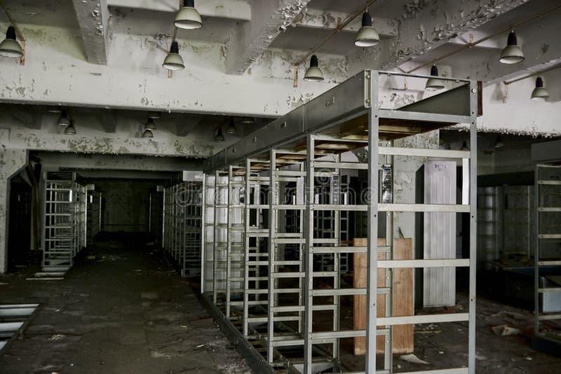 Estação militar abandonada imagens de stock royalty free