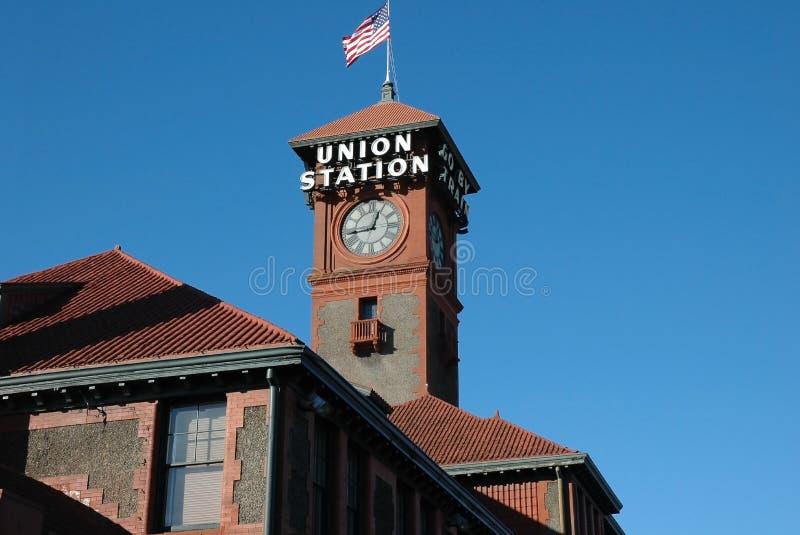 Estação Portland Oregon da união imagem de stock
