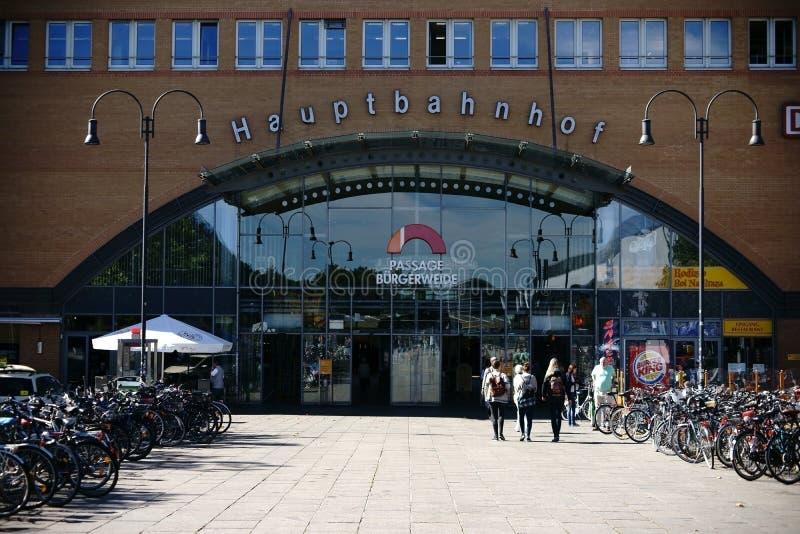 Download Estação principal Brema imagem editorial. Imagem de germany - 80100775