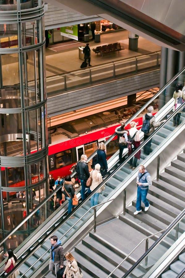 Estação principal de Berlim imagem de stock royalty free