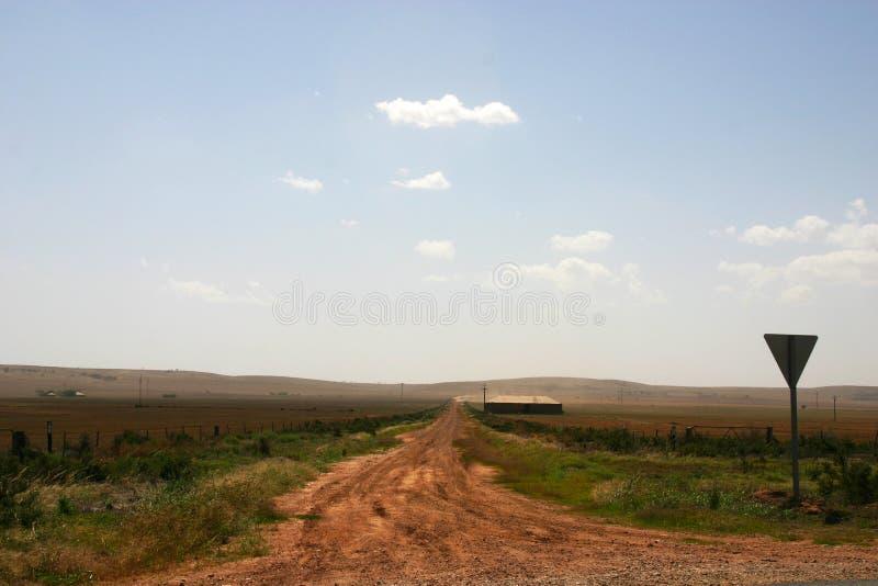 Estação remota do gado, Austrália Ocidental fotos de stock