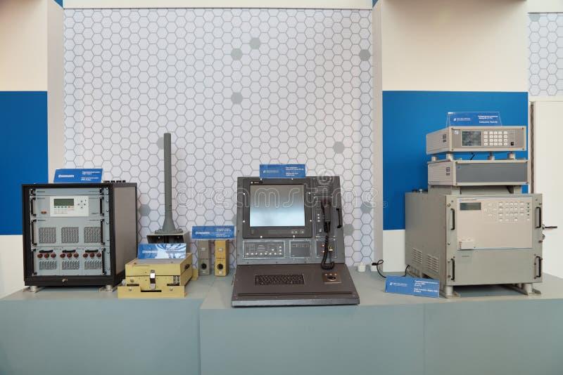 Estações de rádio do navio fotografia de stock