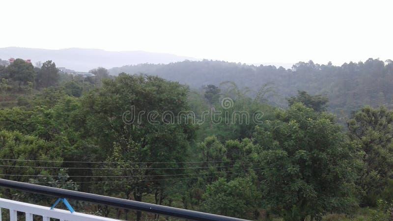 Estações do monte de Himachal Pradesh imagens de stock