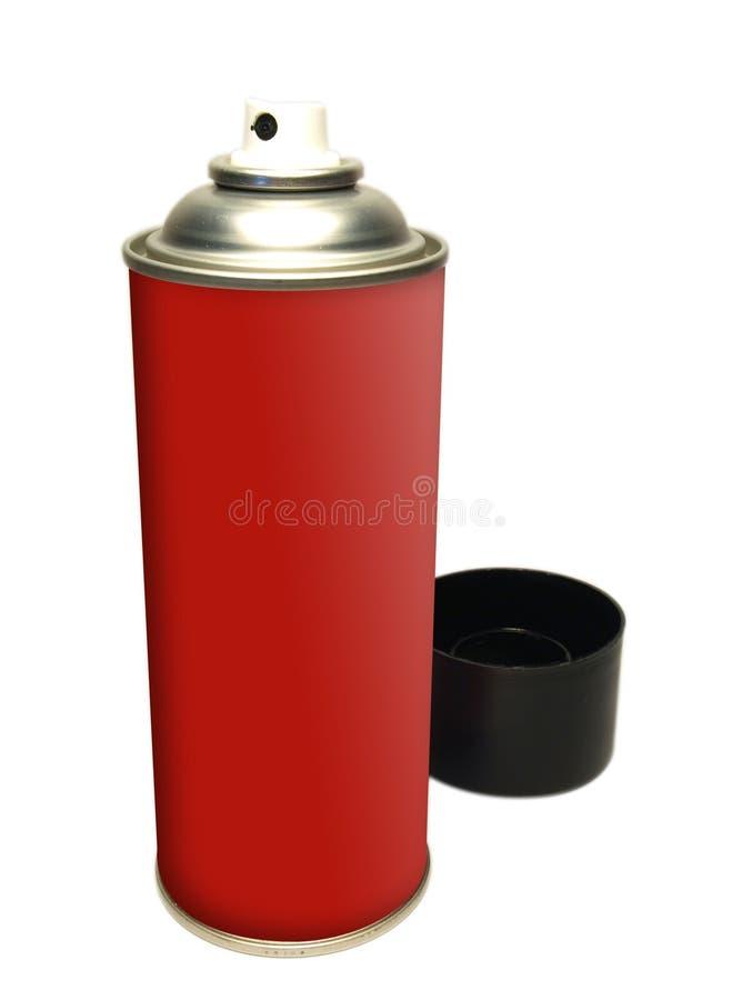 Estaño del aerosol imagen de archivo libre de regalías